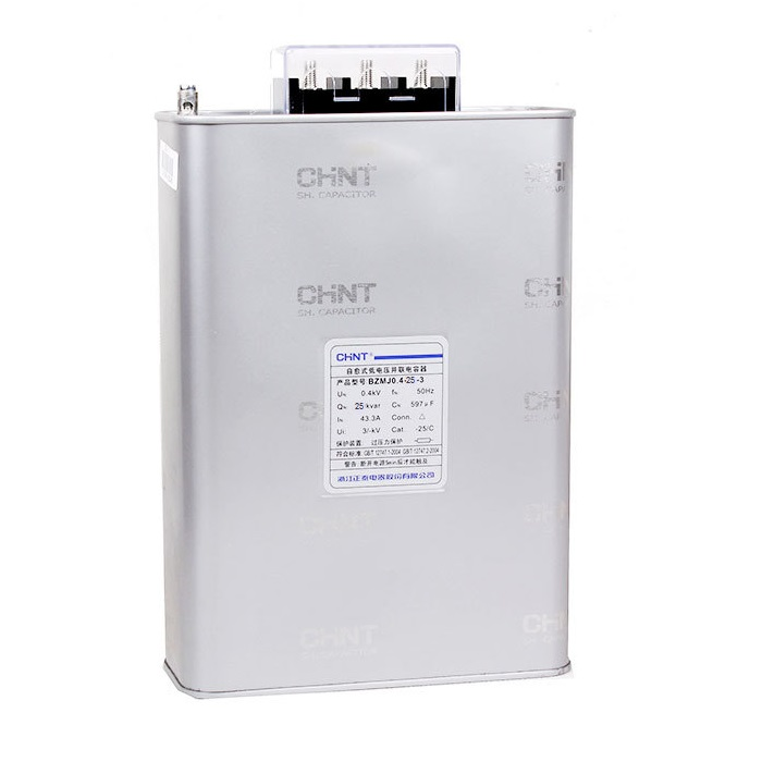 Chint Bzmj 0 4 25 3 Power Factor Capacitor Shunt Capacitor 25 Kvar Automation Controls